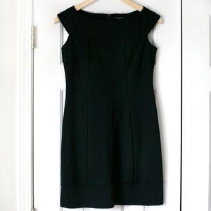 NWT Banana Republic black ponte dress